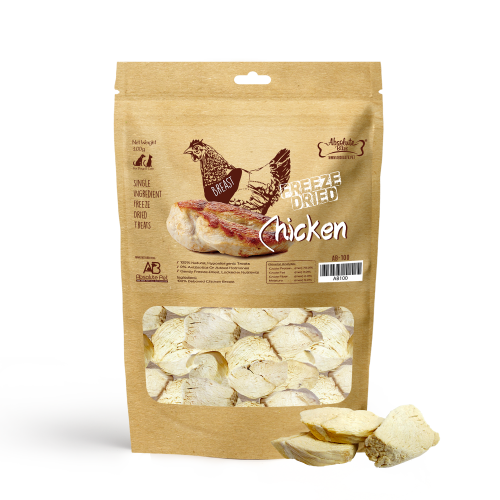AB 100 Chicken Freeze Dried 100g