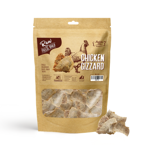 AB 518 Chicken Gizzard Freeze Dried 65g