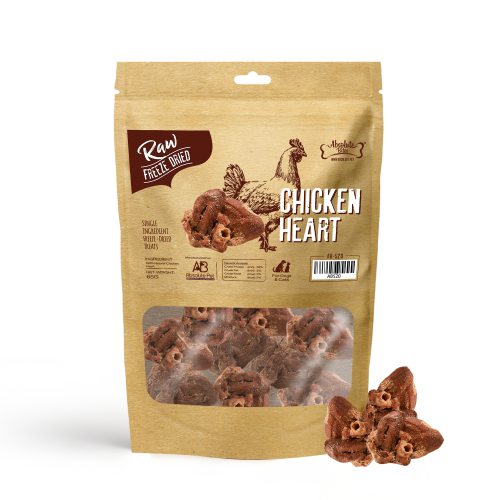 AB 520 Chicken Heart Freeze Dried 65g